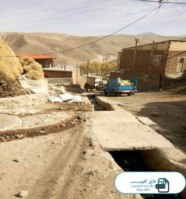 دانلود پروژه روستای لیقوان