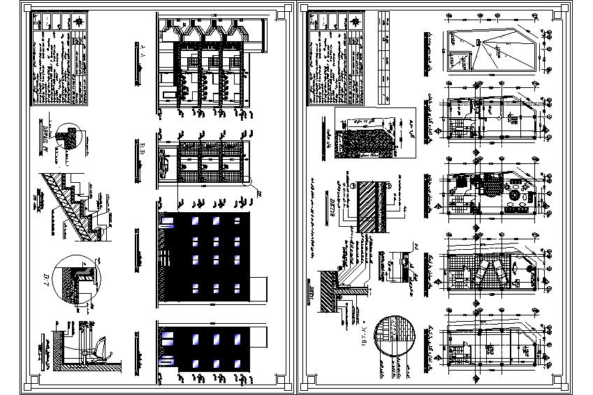 پلان ساختمان مورد تائید نظام مهندسی