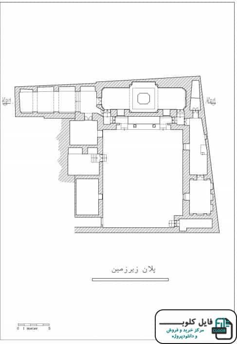نقشه های خانه حاج شیخ تبریز