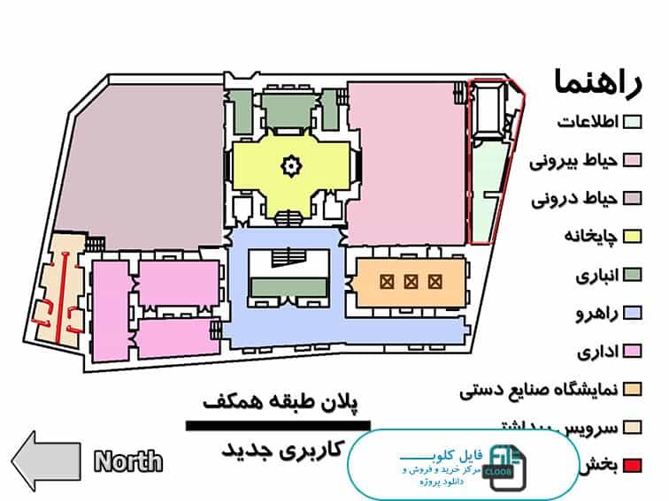 پلان های خانه حیدرزاده تبریز