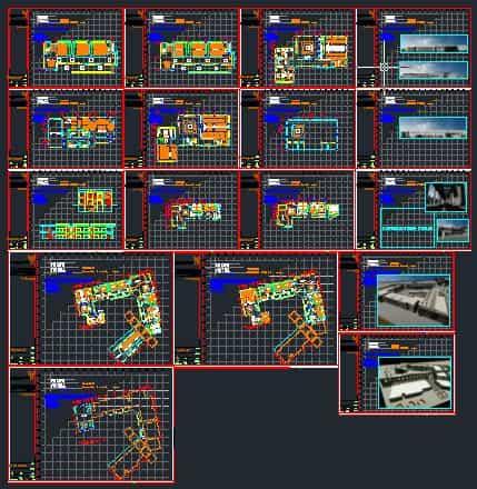 نقشه های دانشکده هنر و معماری