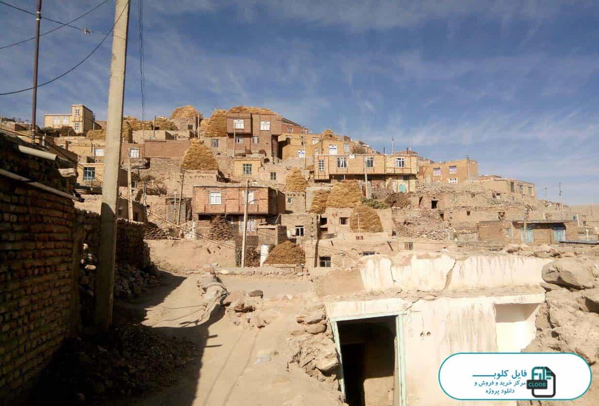 طرح هادی روستای لیقوان
